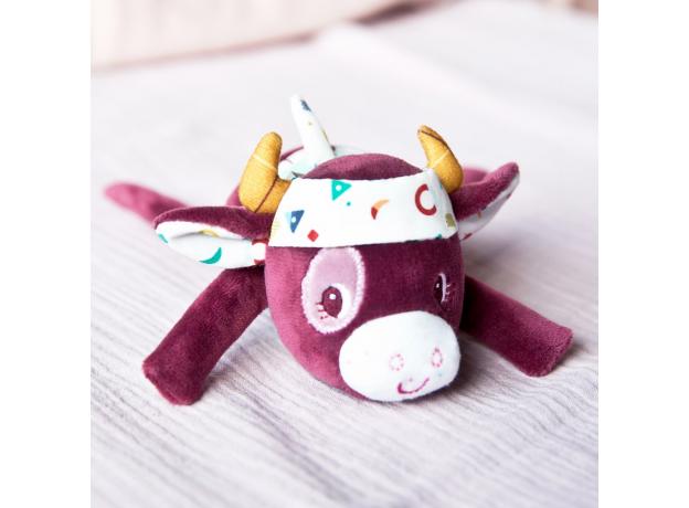 Погремушка растягивающаяся Lilliputiens «Корова Розали», фото , изображение 2