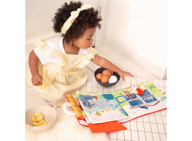 Книжка мягкая Lilliputiens «Курочка Полетт ищет своих цыплят», фото , изображение 12
