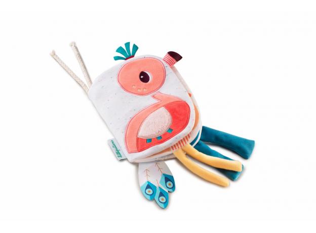 Книжка-игрушка Lilliputiens «Фламинго Анаис», фото