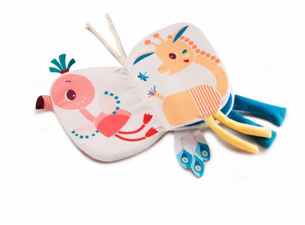 Книжка-игрушка Lilliputiens «Фламинго Анаис», фото , изображение 2