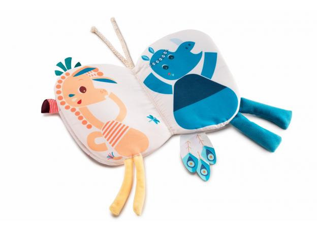 Книжка-игрушка Lilliputiens «Фламинго Анаис», фото , изображение 3