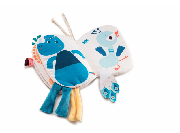 Книжка-игрушка Lilliputiens «Фламинго Анаис», фото , изображение 4