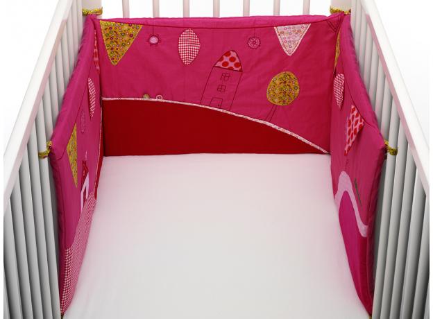 86363 Божья коровка Лиза: развивающий бампер в кроватку, фото , изображение 2