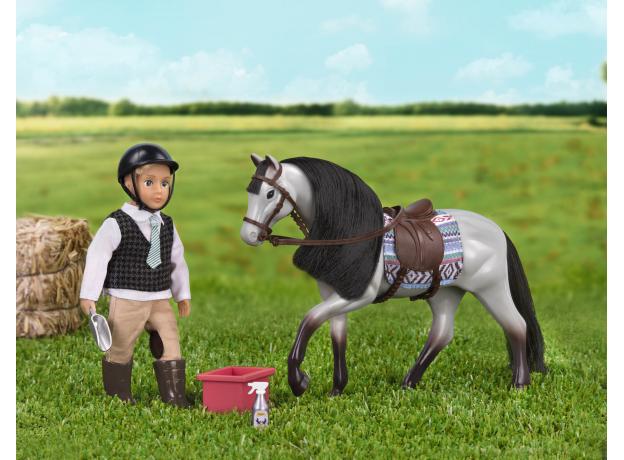 Лошадь породы «Роанская голубая» Lori с аксессуарами, фото , изображение 3