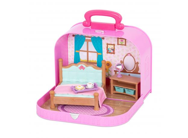 Игровой набор в чемоданчике Li'l Woodzeez «Спальня», фото