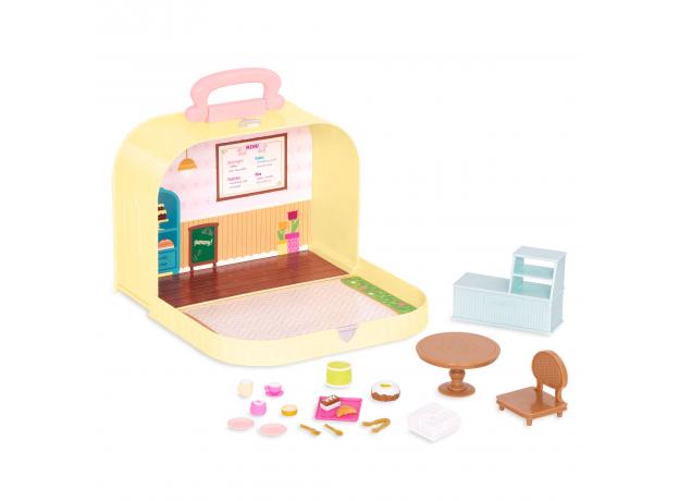 Игровой набор в чемоданчике Li'l Woodzeez «Кондитерская», фото
