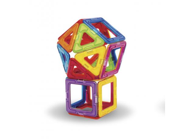 Магнитный конструктор MAGFORMERS 701005 Набор 30/Rainbow, фото , изображение 2