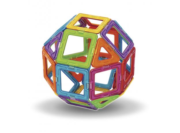 Магнитный конструктор MAGFORMERS 701005 Набор 30/Rainbow, фото , изображение 6