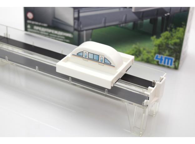 Набор 4M 00-03379 Поезд на магнитной подушке, фото , изображение 5