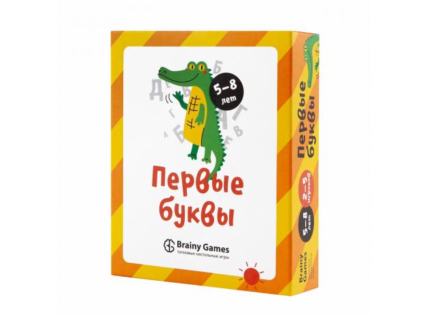 Настольная игра BRAINY GAMES УМ521 Первые буквы, фото