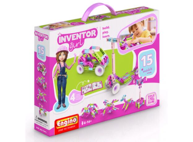 Конструктор: Набор из 15 моделей, серия INVENTOR GIRLS, штрих-код 5291664001747, ст.8, фото