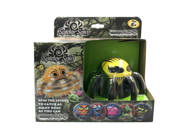 Игра CATCHUP TOYS SS-001S-EVL Spider Spin Evil, фото