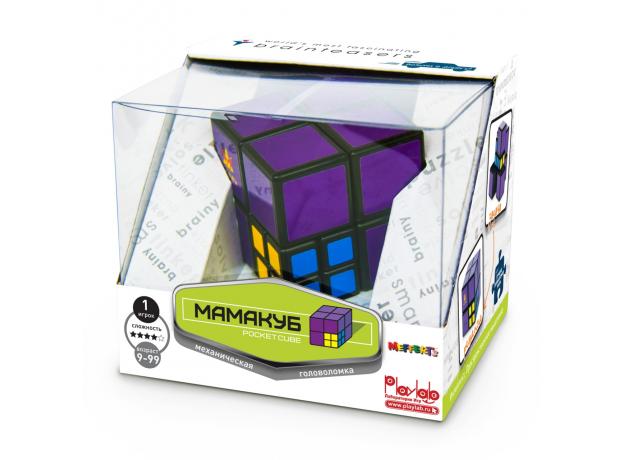 Головоломка МамаКуб (Pocket Cube) (10702070/080819/0154686/1, КИТАЙ ), фото