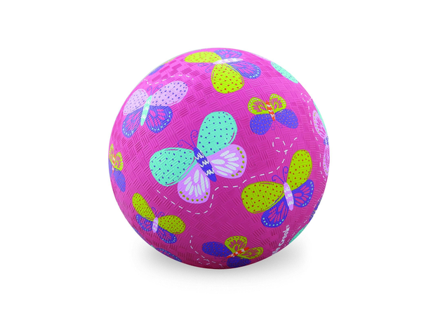 Crocodile Creek Мяч 5'/Бабочки, розовый 2131-9, фото