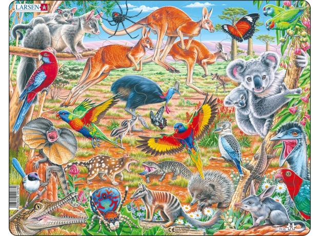 LARSEN FH45 - Дикие животные Австралии FH45, фото
