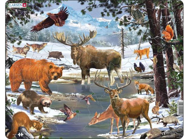 LARSEN FH32 - Животные Северной Европы FH33, фото