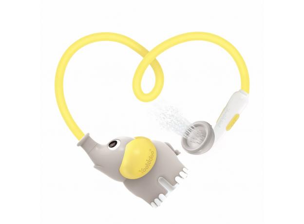 Игрушка для ванны Yookidoo душ «Слоненок»; серый с желтым, фото , изображение 4