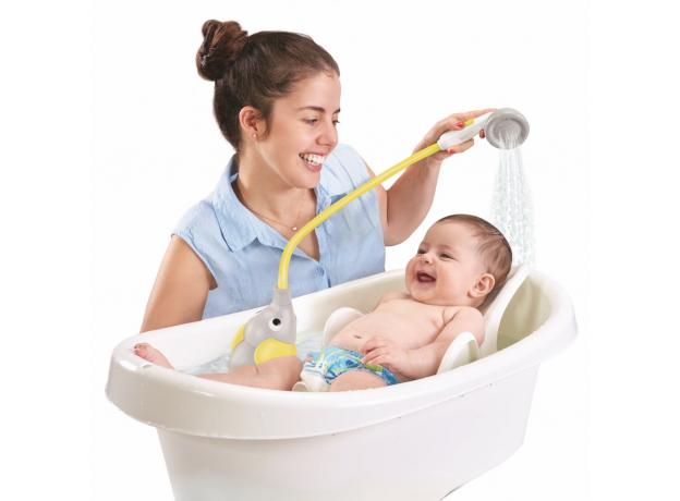 Игрушка для ванны Yookidoo душ «Слоненок»; серый с желтым, фото , изображение 8