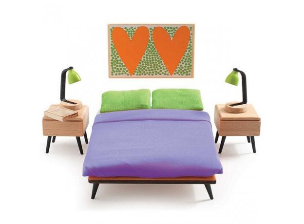 DJECO Мебель для кукольного дома Спальня родителей 07826, фото