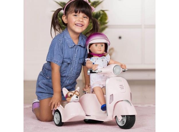 Скутер с коляской и настоящим FM-радио, фото , изображение 11
