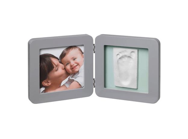 """Рамочка двойная """"Модерн"""" с 4 цветными подложками; серый, фото"""
