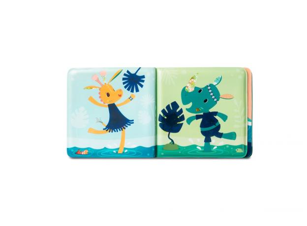 Книжка для ванны волшебная Lilliputiens «Крокодил Анатоль», фото , изображение 2