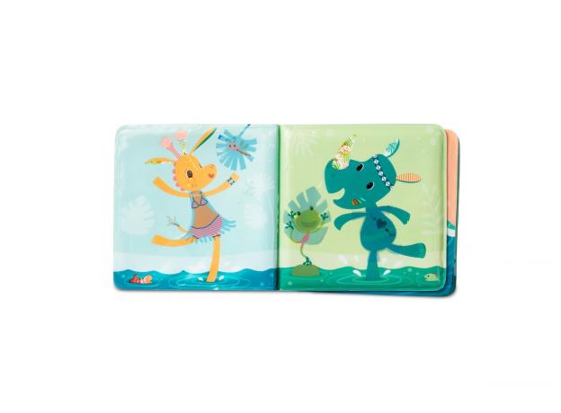Книжка для ванны волшебная Lilliputiens «Крокодил Анатоль», фото , изображение 3