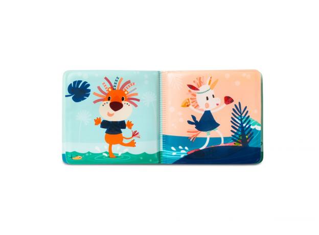 Книжка для ванны волшебная Lilliputiens «Крокодил Анатоль», фото , изображение 4