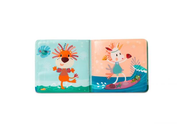 Книжка для ванны волшебная Lilliputiens «Крокодил Анатоль», фото , изображение 5