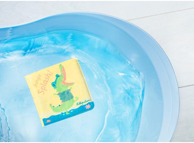 Книжка для ванны волшебная Lilliputiens «Крокодил Анатоль», фото , изображение 6
