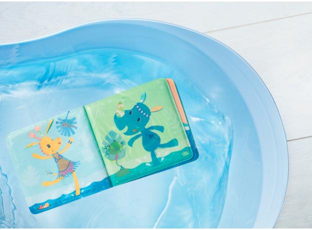 Книжка для ванны волшебная Lilliputiens «Крокодил Анатоль», фото , изображение 7