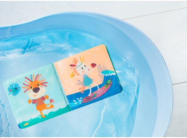 Книжка для ванны волшебная Lilliputiens «Крокодил Анатоль», фото