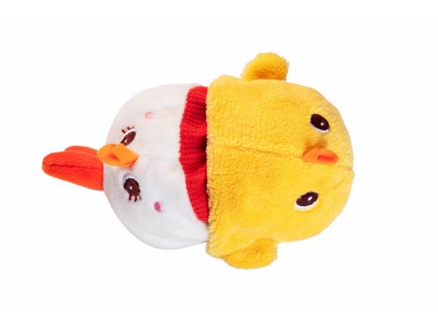 Мягкая игрушка Lilliputiens «Курочка Полетта» двусторонняя, фото , изображение 2