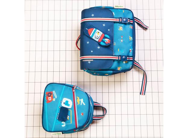 Рюкзак школьный Lilliputiens «Носорог Мариус», фото , изображение 2