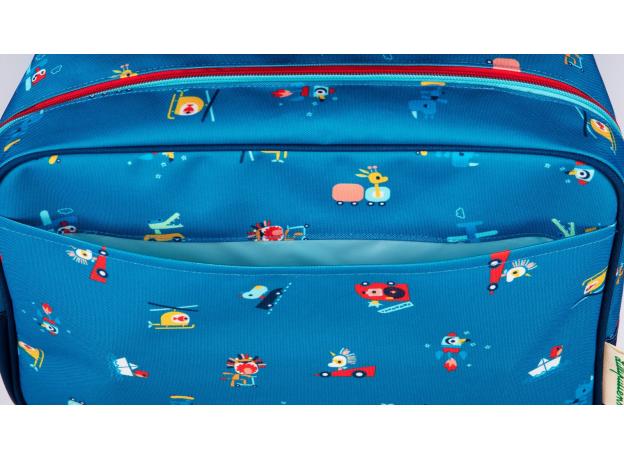 Рюкзак школьный Lilliputiens «Носорог Мариус», фото , изображение 6