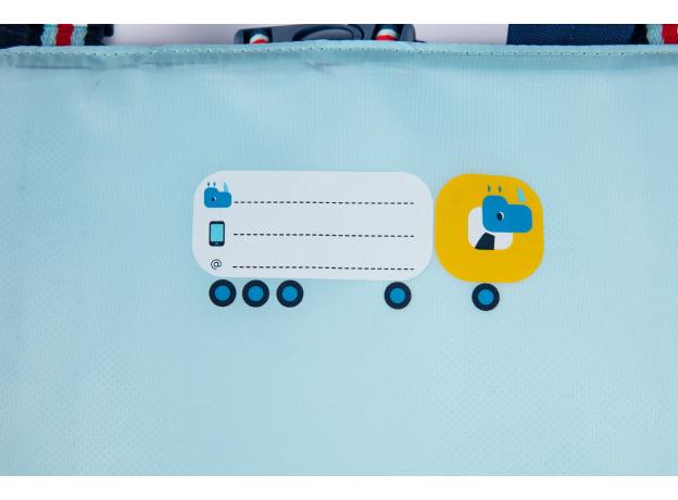 Рюкзак школьный Lilliputiens «Носорог Мариус», фото , изображение 8