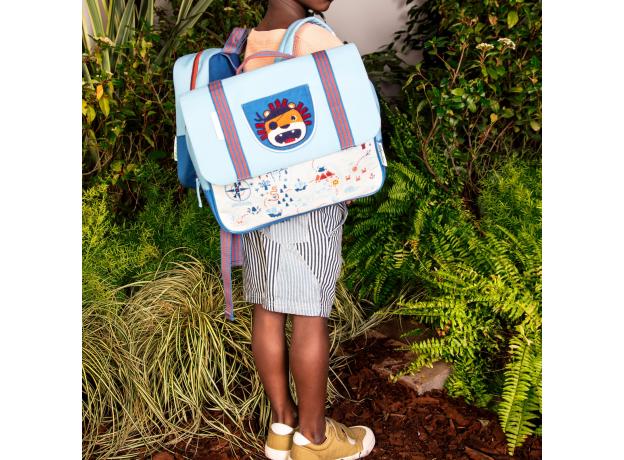 Рюкзак школьный Lilliputiens «Лев Джек», фото , изображение 6