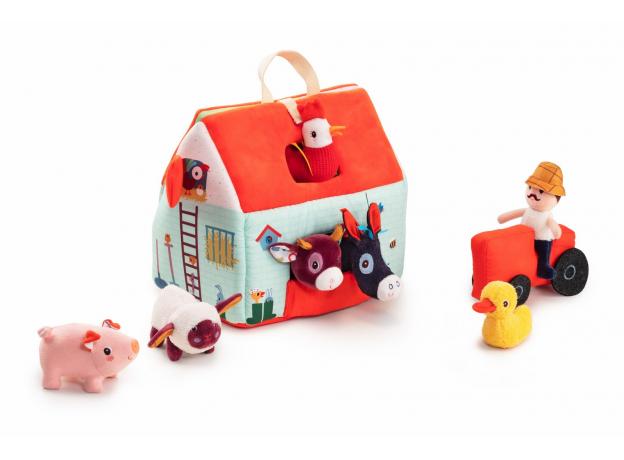 Набор мягких игрушек Lilliputiens «На ферме», фото , изображение 2