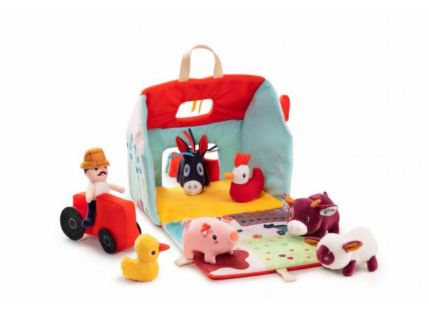 Набор мягких игрушек Lilliputiens «На ферме», фото