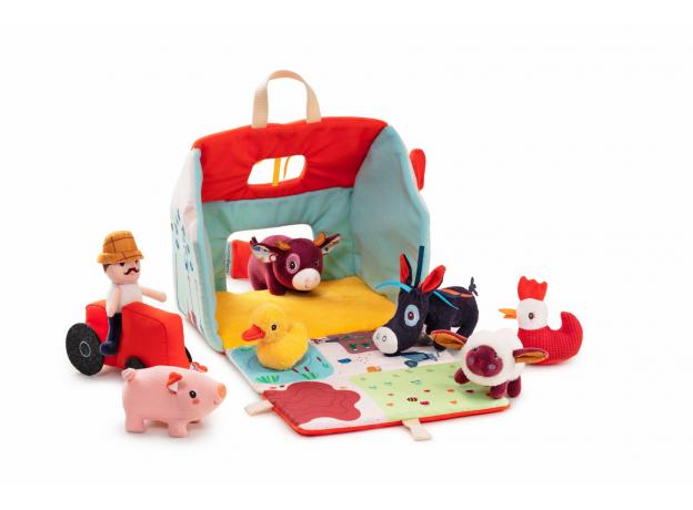 Набор мягких игрушек Lilliputiens «На ферме», фото , изображение 5