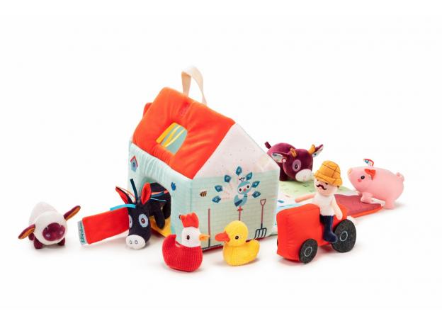 Набор мягких игрушек Lilliputiens «На ферме», фото , изображение 6