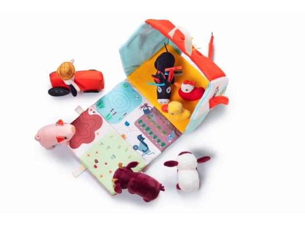 Набор мягких игрушек Lilliputiens «На ферме», фото , изображение 7