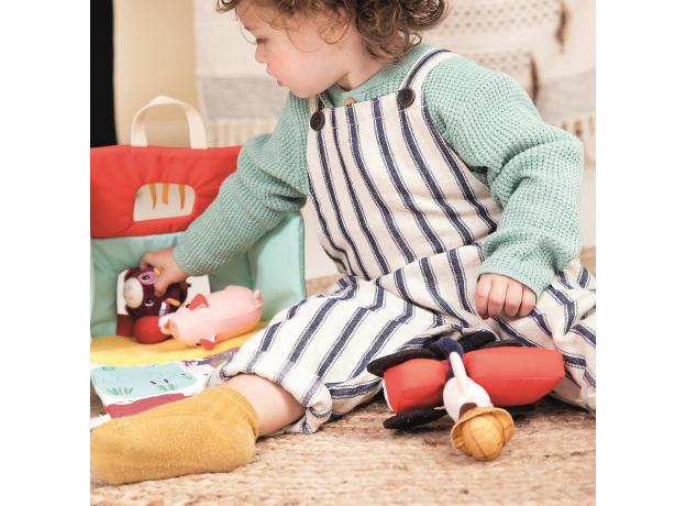 Набор мягких игрушек Lilliputiens «На ферме», фото , изображение 8