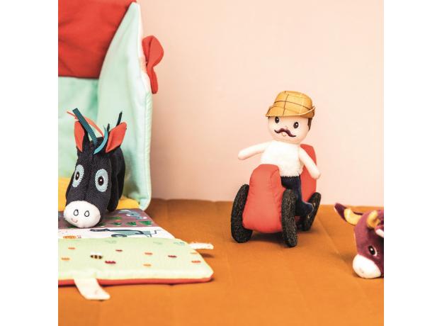 Набор мягких игрушек Lilliputiens «На ферме», фото , изображение 9