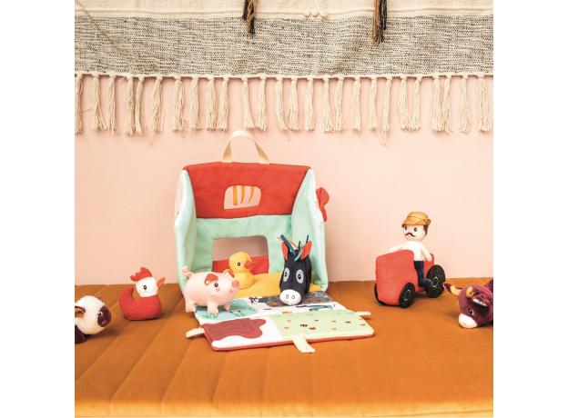 Набор мягких игрушек Lilliputiens «На ферме», фото , изображение 10