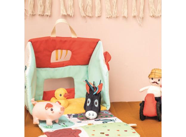 Набор мягких игрушек Lilliputiens «На ферме», фото , изображение 11