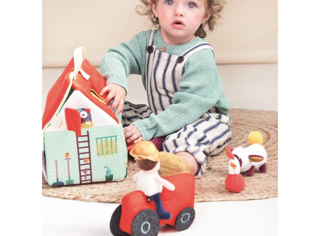 Набор мягких игрушек Lilliputiens «На ферме», фото , изображение 13
