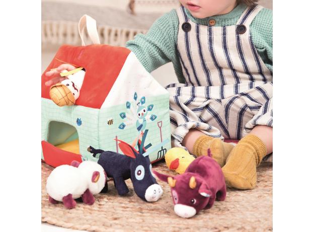 Набор мягких игрушек Lilliputiens «На ферме», фото , изображение 14