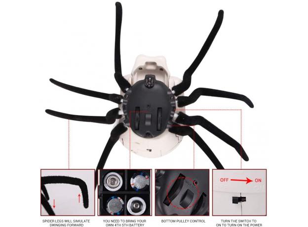 """Робот """"Skeleton Spider"""", радиоуправляемый, фото , изображение 13"""