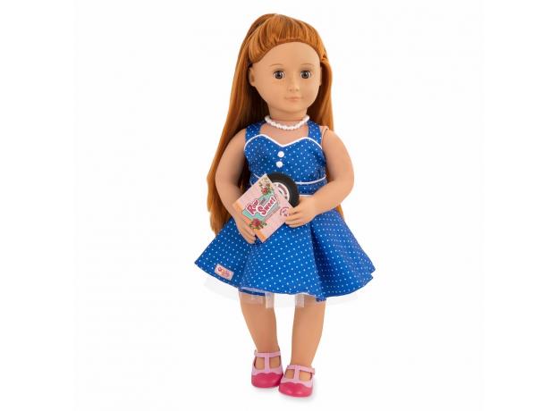Комплект одежды для куклы Our Generation с виниловым диском, фото , изображение 2